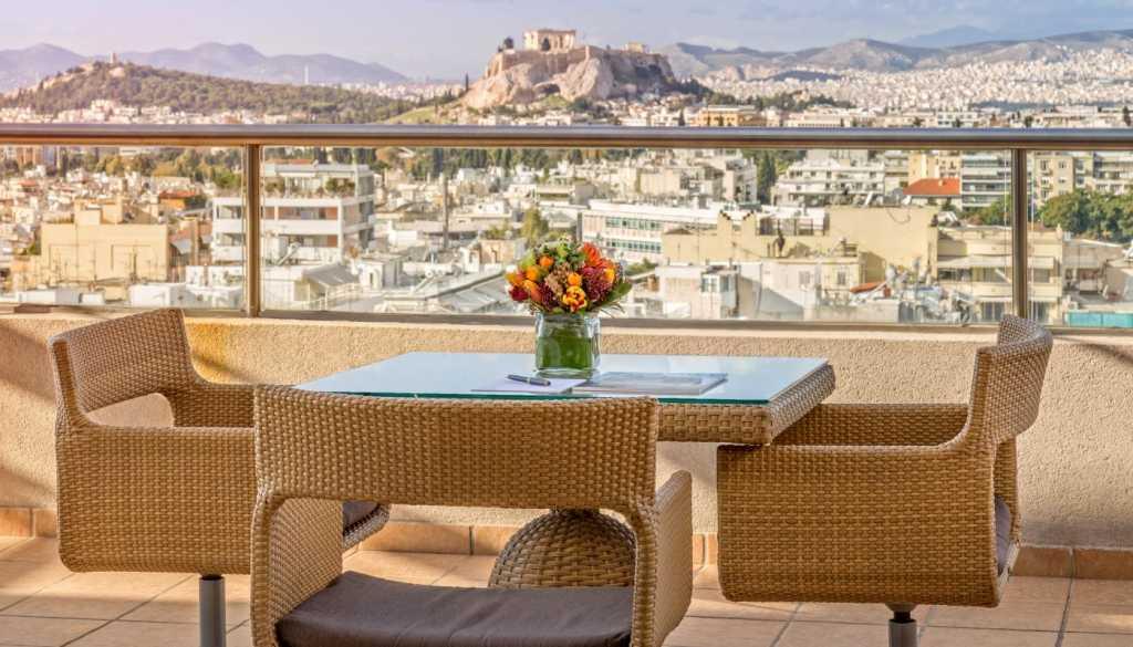 Divani Caravel Hotel - Acropolis View